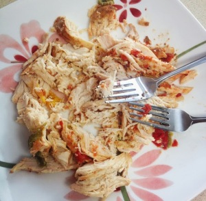 Easy Crockpot Chicken - 21 Day Fix